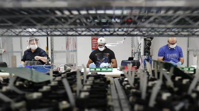 美国12月工业生产增长1.6%